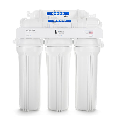 5 Stage 100 GPD Premium Reverse Osmosis Drinking Water System, Module Only