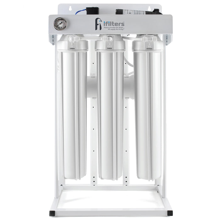"300 GPD Reverse Osmosis System Ultra Clean Safe Water, 1/4"" Ports w/ All filters"