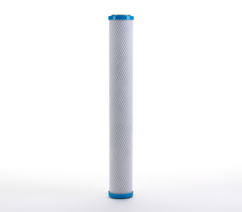 Coconut Shell CTO, Cyst Carbon Block Water Filter Cartridge, 0.5 micron 2.5 x 20 - iFilters