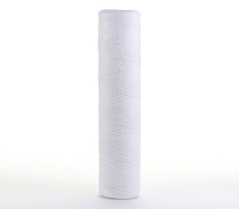 Sediment String Wound Water Filter Whole House or Commercial, 4.5 x 20, 5 Micron - iFilters
