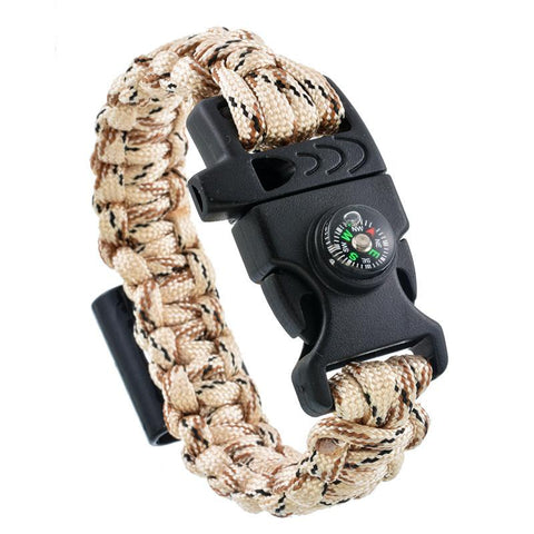 4 In 1 Emergency Survival Bracelet - 4 In 1 Emergency Survival Bracelet