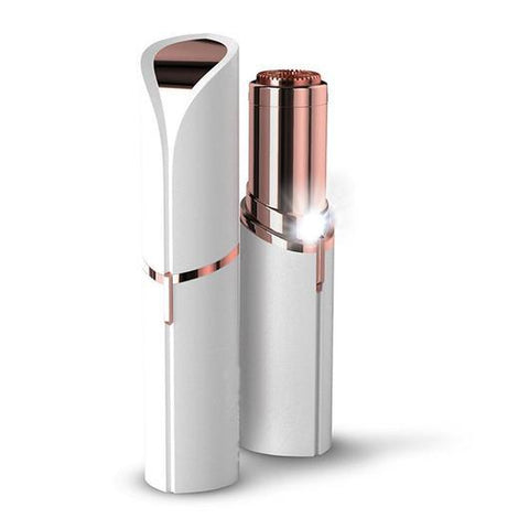 Rose Gold-Plated Depilatory for Facial Hair Removal