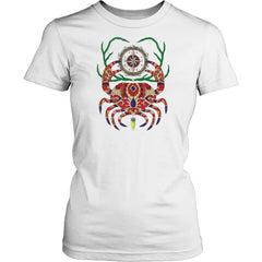 FILCAR193142 BC Compass Crab Women's Tee Shirt - BC Compass Crab Women's Tee Shirt