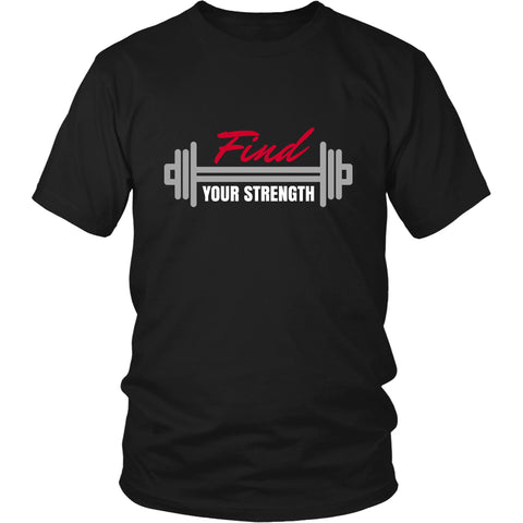 FIND YOUR STRENGTH Unisex Hoodie - Find Your Strength - Unisex Tee Shirt