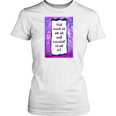 LIGBOX157808 Number 1 Women's Tee Shirt - Number 1 Women's Tee Shirt