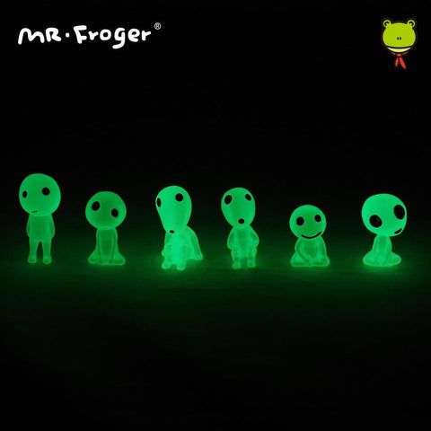 Princess Mononoke's Glowing Kodama Friends