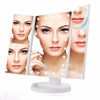 Image of Foldable Triple-Panel LED Makeup Mirror