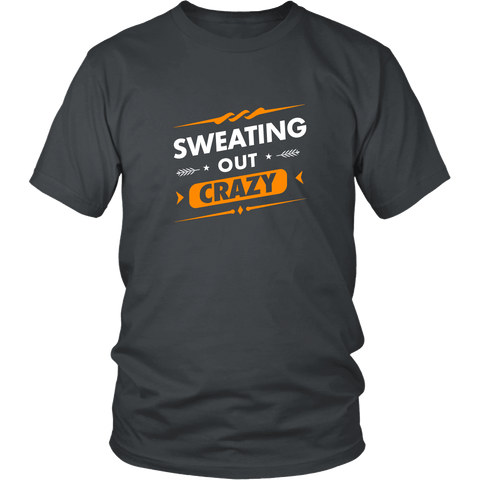 SWEATING OUT CRAZY Men's Shirt - Sweating Out Crazy - Men's Shirt