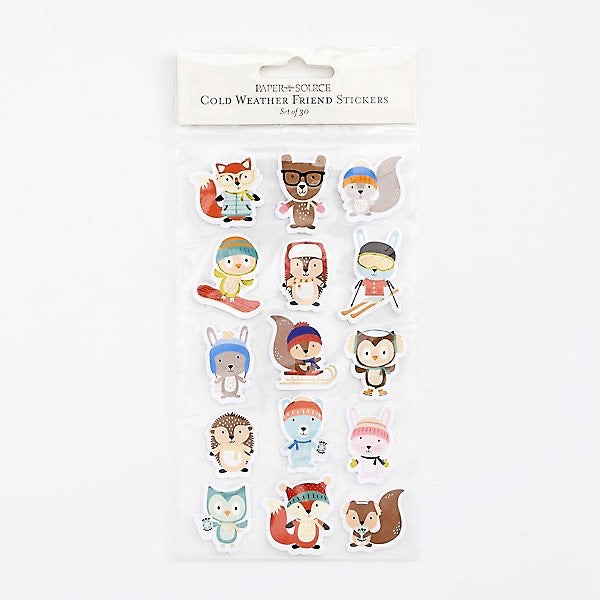Cold Weather Friend Stickers - Lily Pad