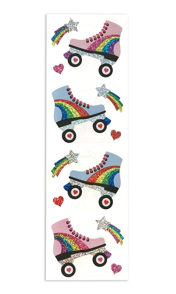 Mrs. Grossmans Roller Skates Sticker Sheet - Lily Pad