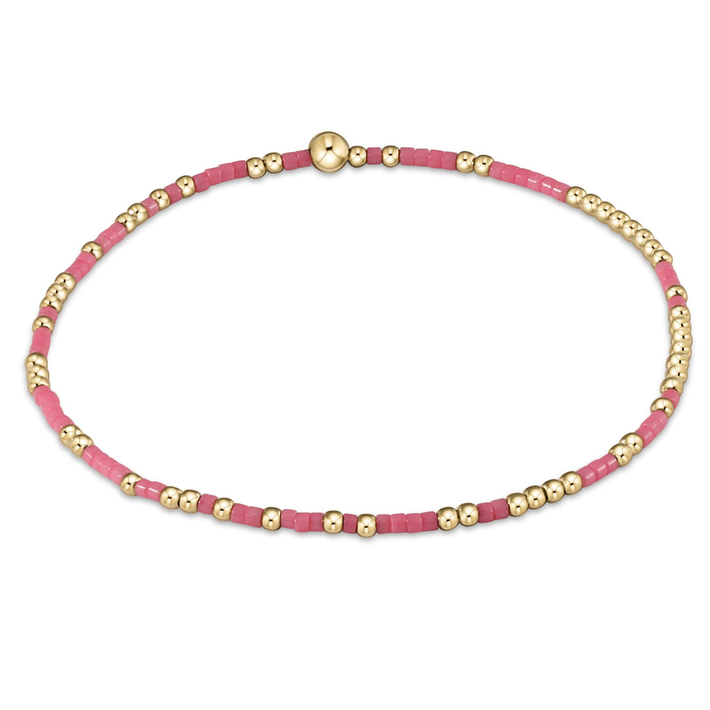 Hope Unwritten Bracelet - Pink - Lily Pad