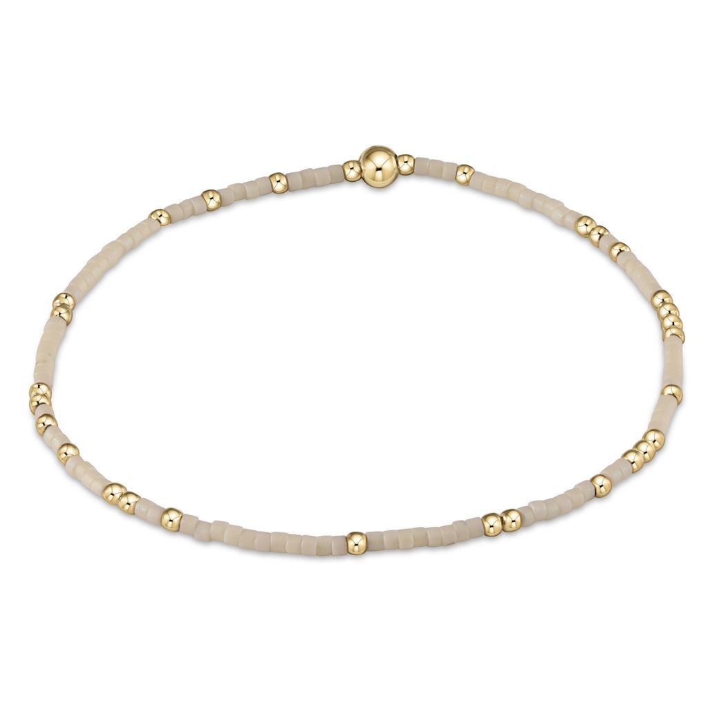 Hope Unwritten Bracelet - Off White - Lily Pad