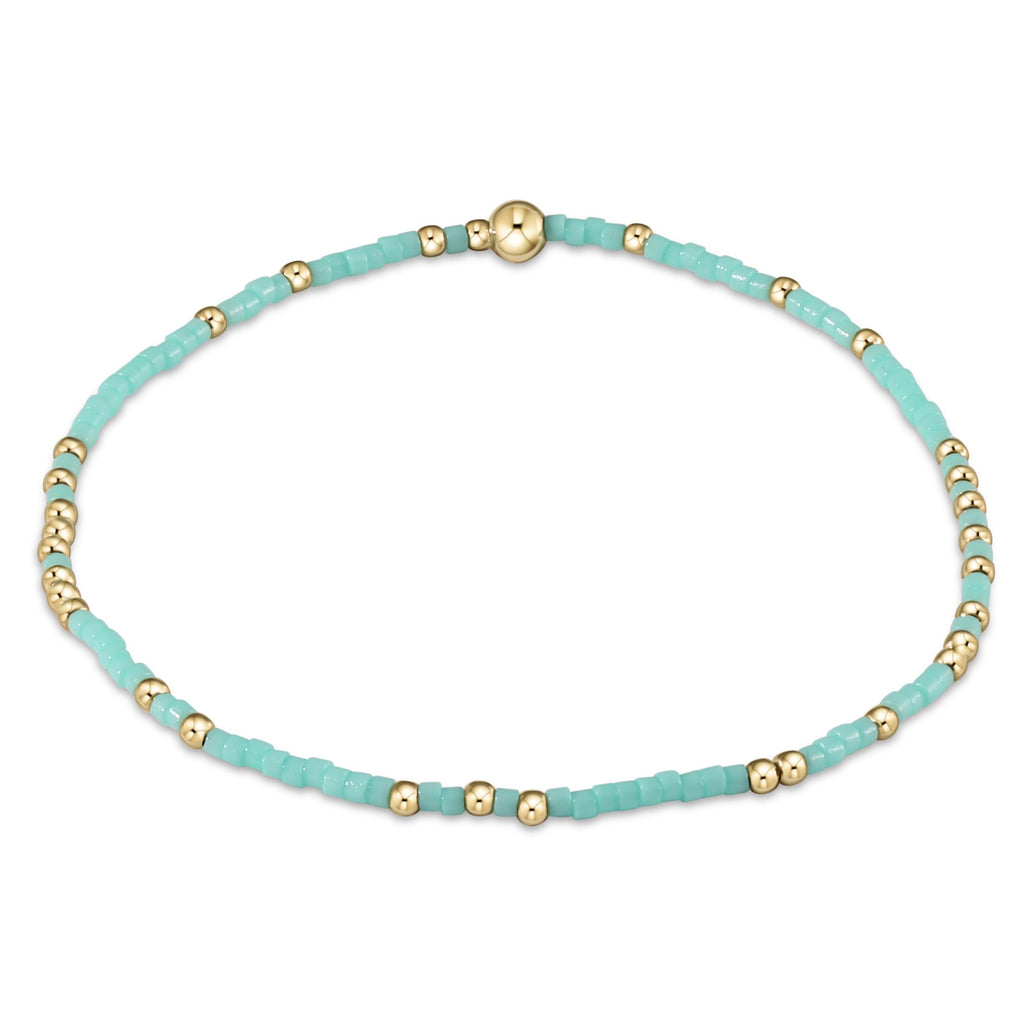 Hope Unwritten Bracelet - Mint - Lily Pad