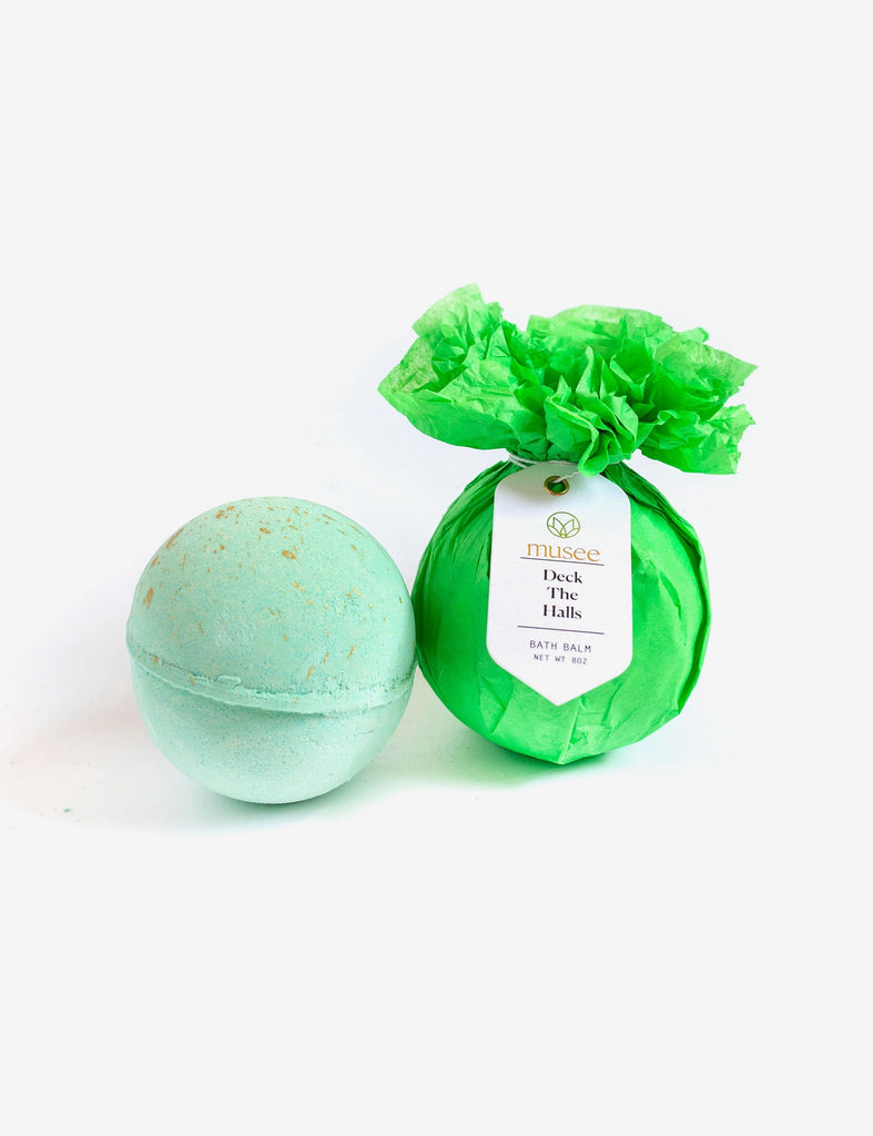 Musee Deck the Halls Surprise Bath Balm - Lily Pad