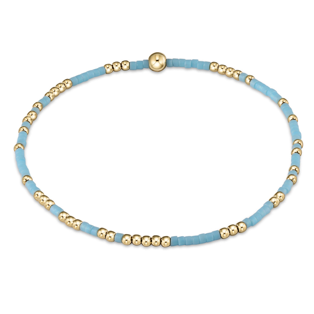 Hope Unwritten Bracelet - Turquoise - Lily Pad