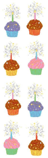 Mrs. Grossmans Cupcakes, Sticker Sheet - Lily Pad