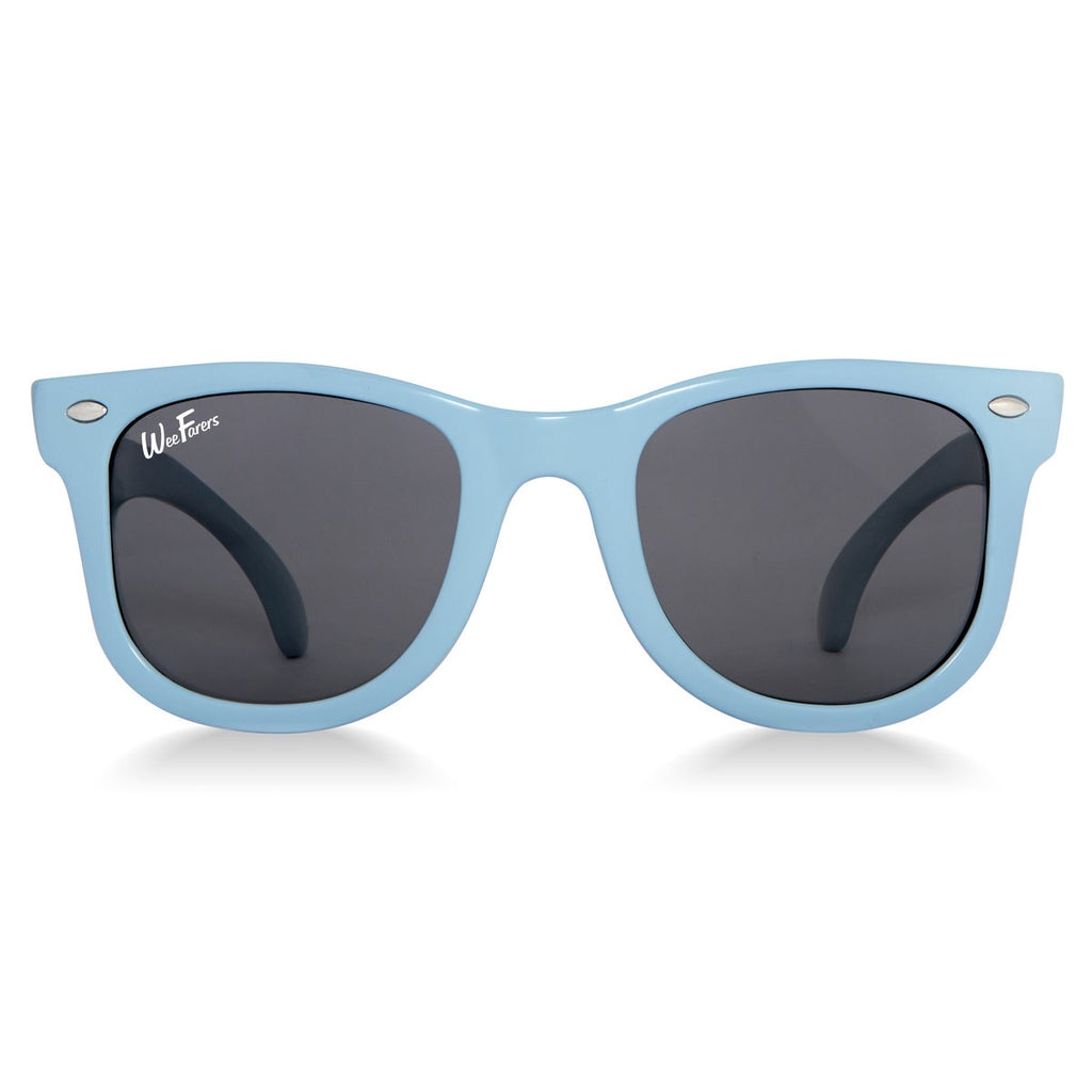 WeeFarers Original Sunglasses, 0-2 years, Blue - Lily Pad