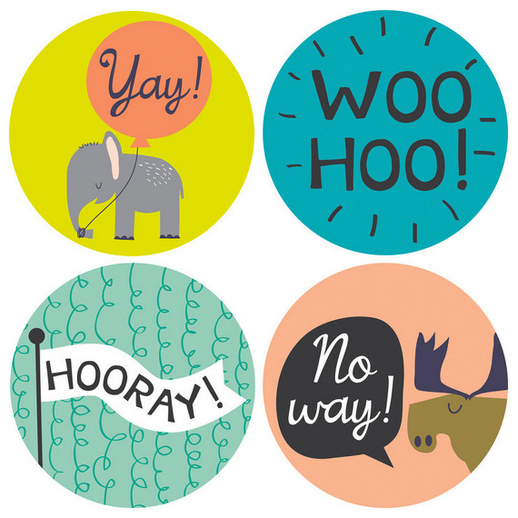 Lucy Darling Let's Celebrate! Milestone Baby Stickers - Lily Pad