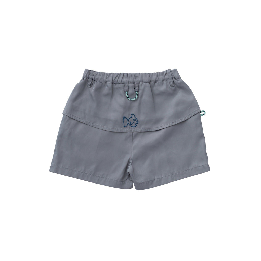 Original Angler Fishing Shorts, Dark Gray PREORDER - Lily Pad