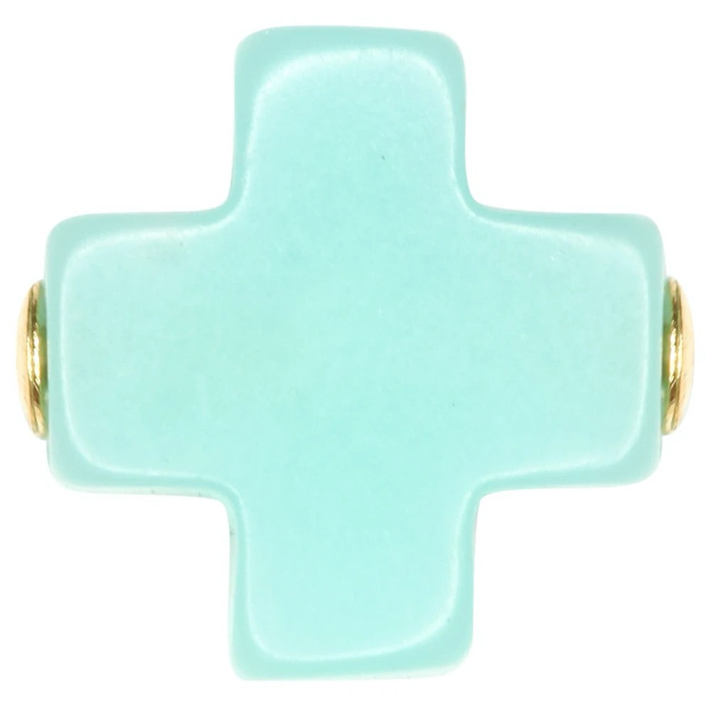 enewton design Signature Cross Kids & Tween Necklace - Lily Pad