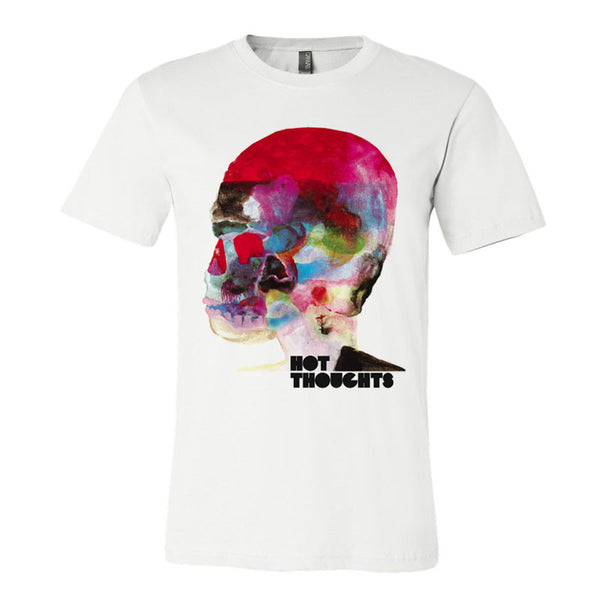 HOT THOUGHTS WHITE T-SHIRT