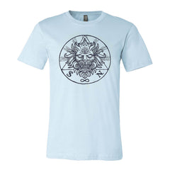 LION LIGHT BLUE T-SHIRT