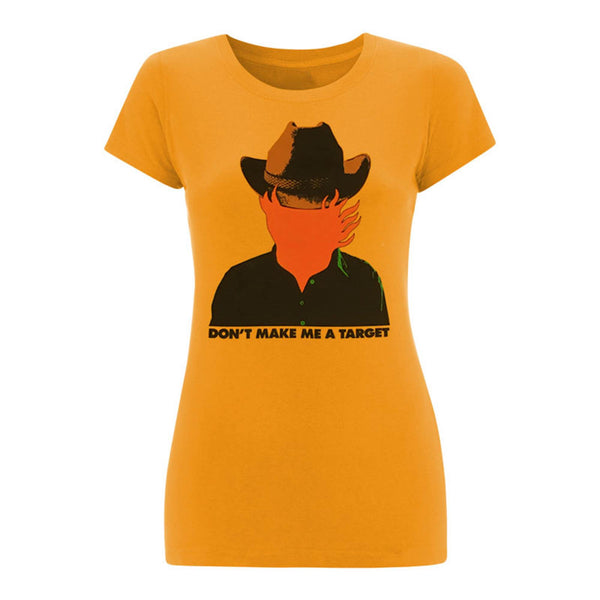 COWBOY/TARGET LADIES GOLD T-SHIRT
