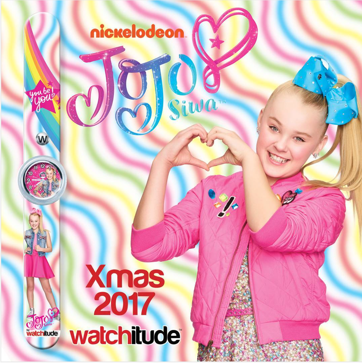 Make Superstar JoJo Siwa part of your holiday celebration and gift giving season!