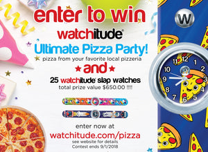 ENTER TO WIN THE ULTIMATE PIZZA PARTY FROM WATCHITUDE!!!