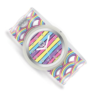 Rainbow Playground - Watchitude Slap Watch - Watchitude