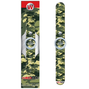 Army Camo - Watchitude Digital Slap Watch - Watchitude