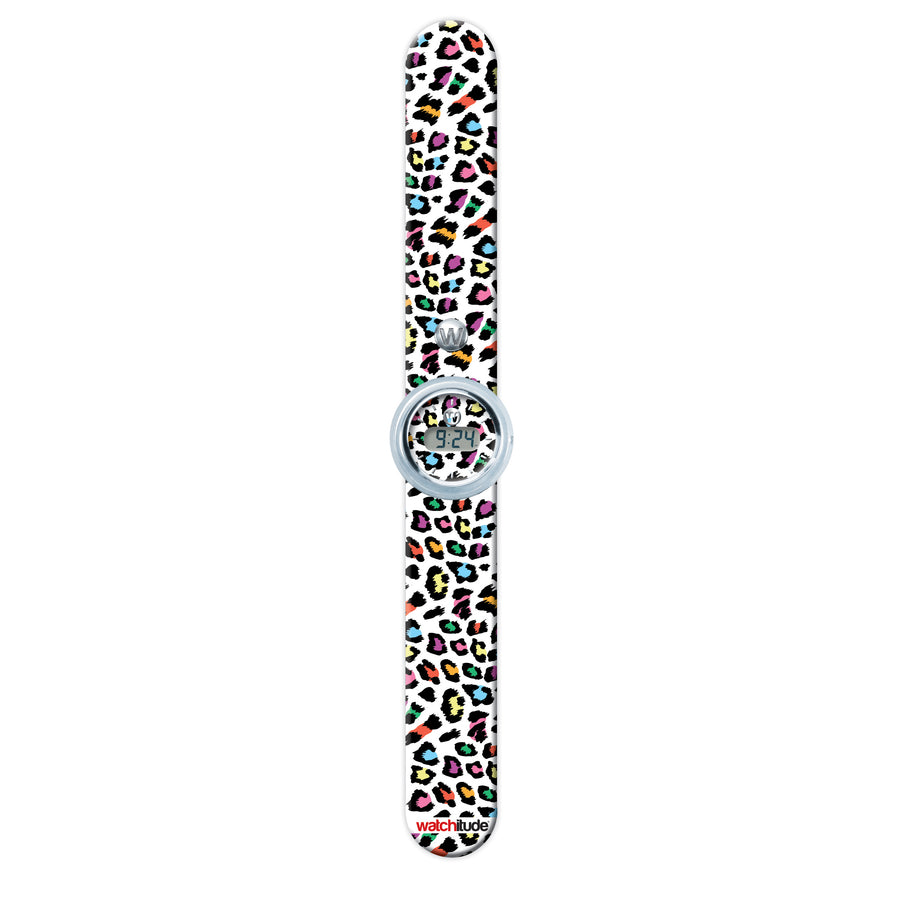 Leopard Camo - Watchitude Digital Slap Watch - Watchitude