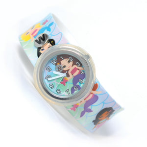 mermaids kids slap watch