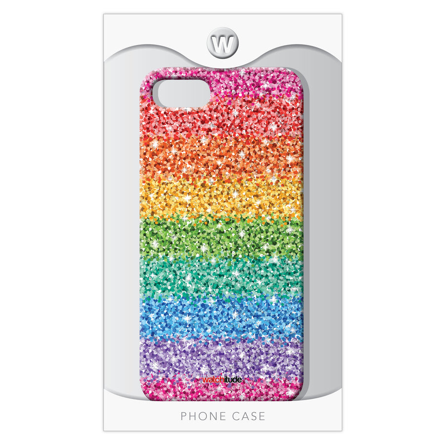 Sassy Sequins 7/8 - Watchitude Phone Case - Fits iPhone 7/8 - Watchitude