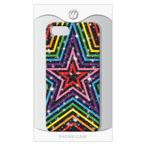 Rainbow Stars 7/8 - Watchitude Phone Case - Fits iPhone 7/8 - Watchitude