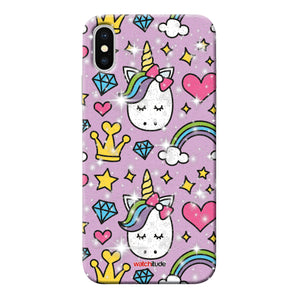 Princess Unicorn X/XS - Watchitude Phone Case - Fits iPhone X/XS - Watchitude