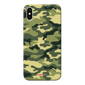 Army Camo X/XS - Watchitude Phone Case - Fits iPhone X/XS - Watchitude