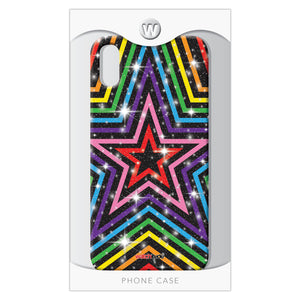 Rainbow Stars X/XS - Watchitude Phone Case - Fits iPhone X/XS - Watchitude