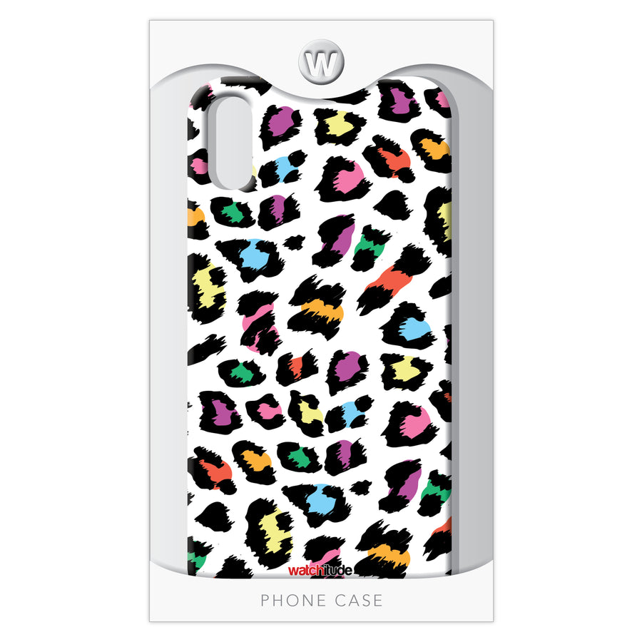 Leopard Camo XR - Watchitude Phone Case - Fits iPhone XR - Watchitude