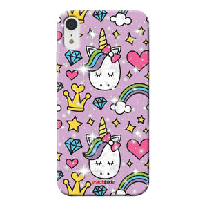 Princess Unicorn XR - Watchitude Phone Case - Fits iPhone XR - Watchitude