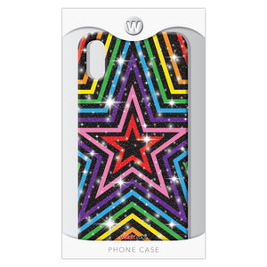 Rainbow Stars XR - Watchitude Phone Case - Fits iPhone XR - Watchitude