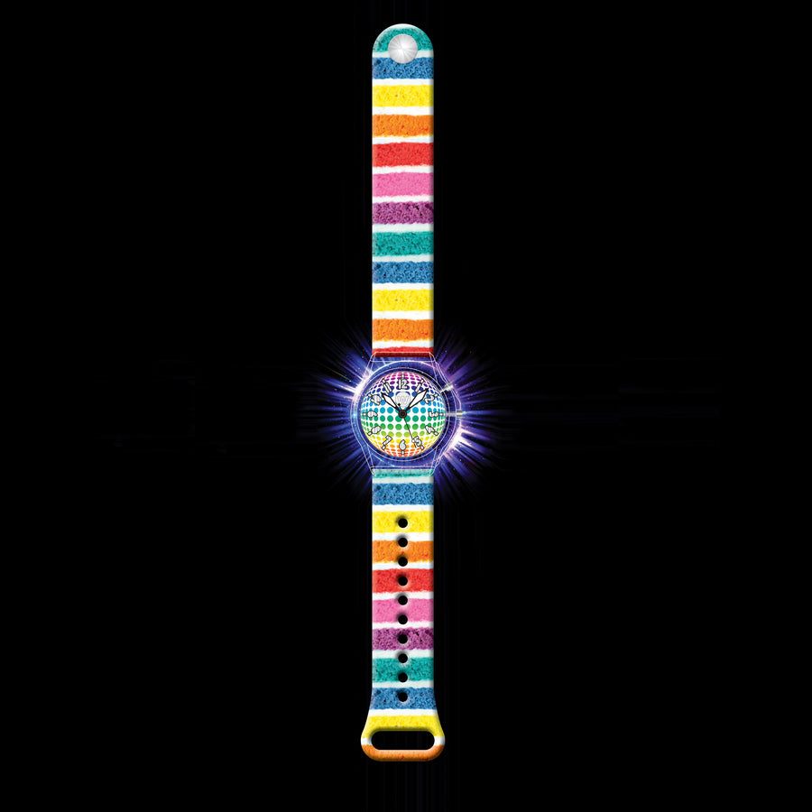 Glow - Rainbow Cake - Led Light-up Watch