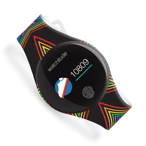 Rainbow Stars - Watchitude Move2 - Kids Activity Waterproof Watch - Watchitude