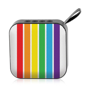 Jamm'd - Wireless Speaker - Rainbow Stripes - Watchitude