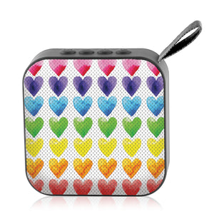 Jamm'd - Wireless Speaker - Watercolor Hearts - Watchitude