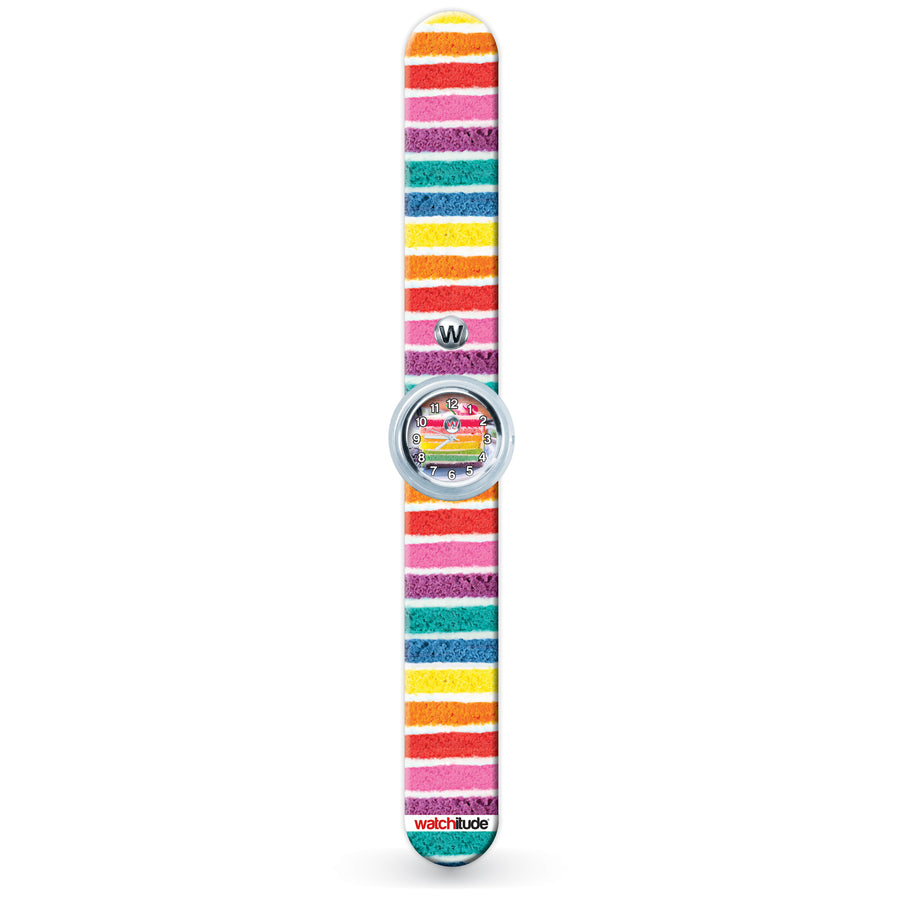 Rainbow Cake - Watchitude Slap Watch - Watchitude