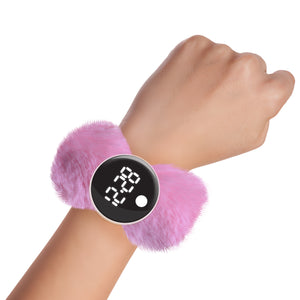 Digis - Pixie Pink digital slap watch - Watchitude