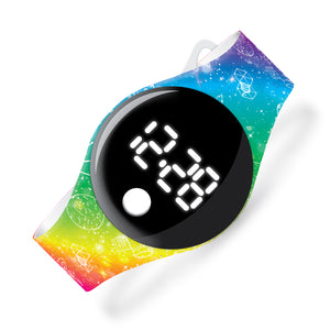 Rainbow Space - blip digital watch - Watchitude