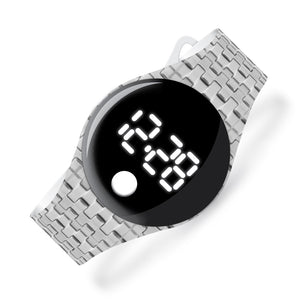 Silver - blip digital watch - Watchitude