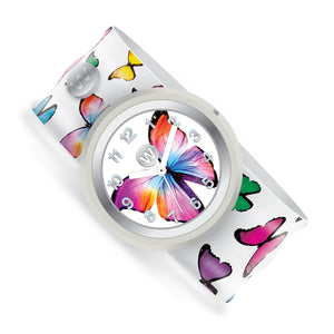 Butterfly Gems - Watchitude Slap Watch - Watchitude